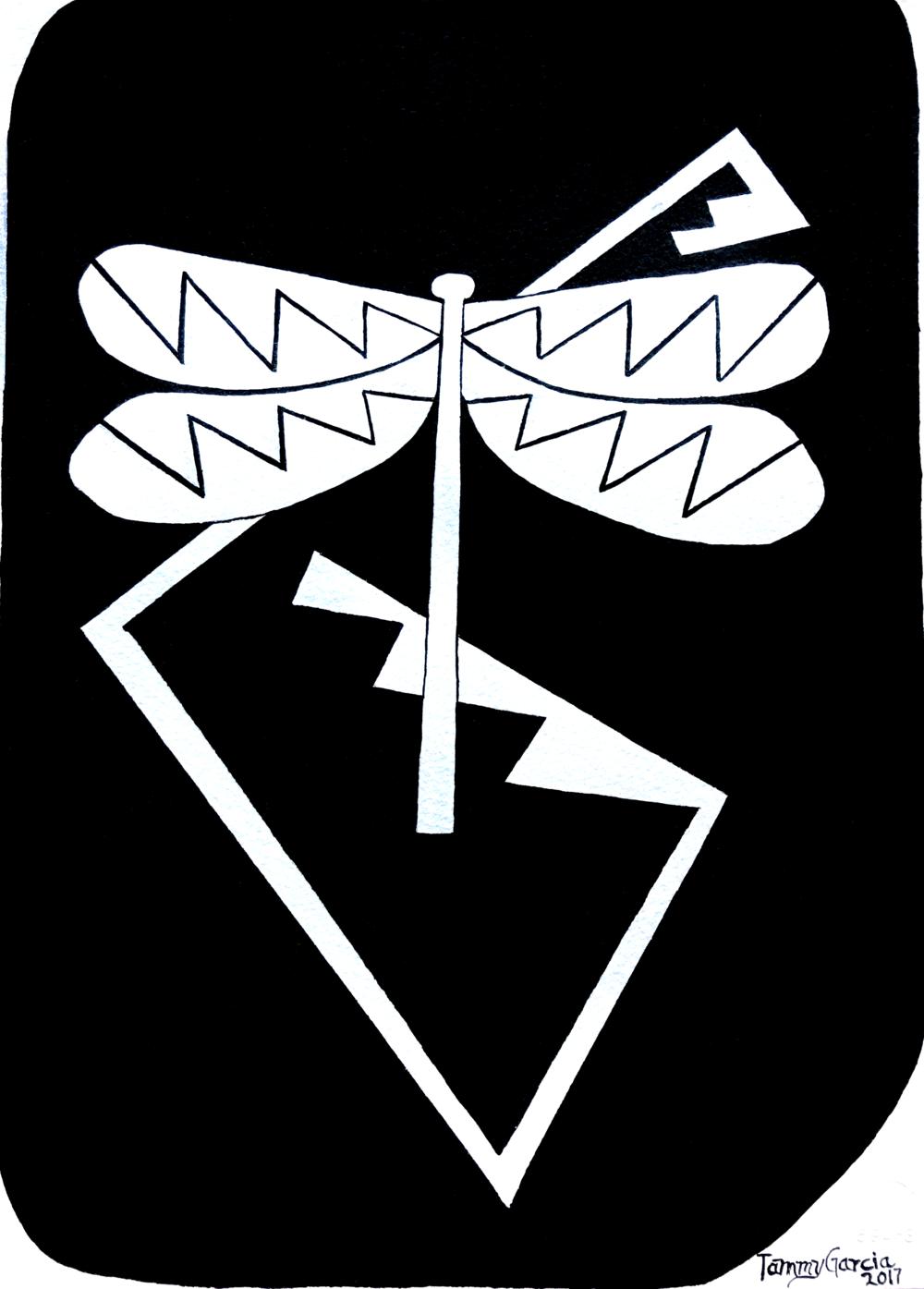 White Dragonfly Design