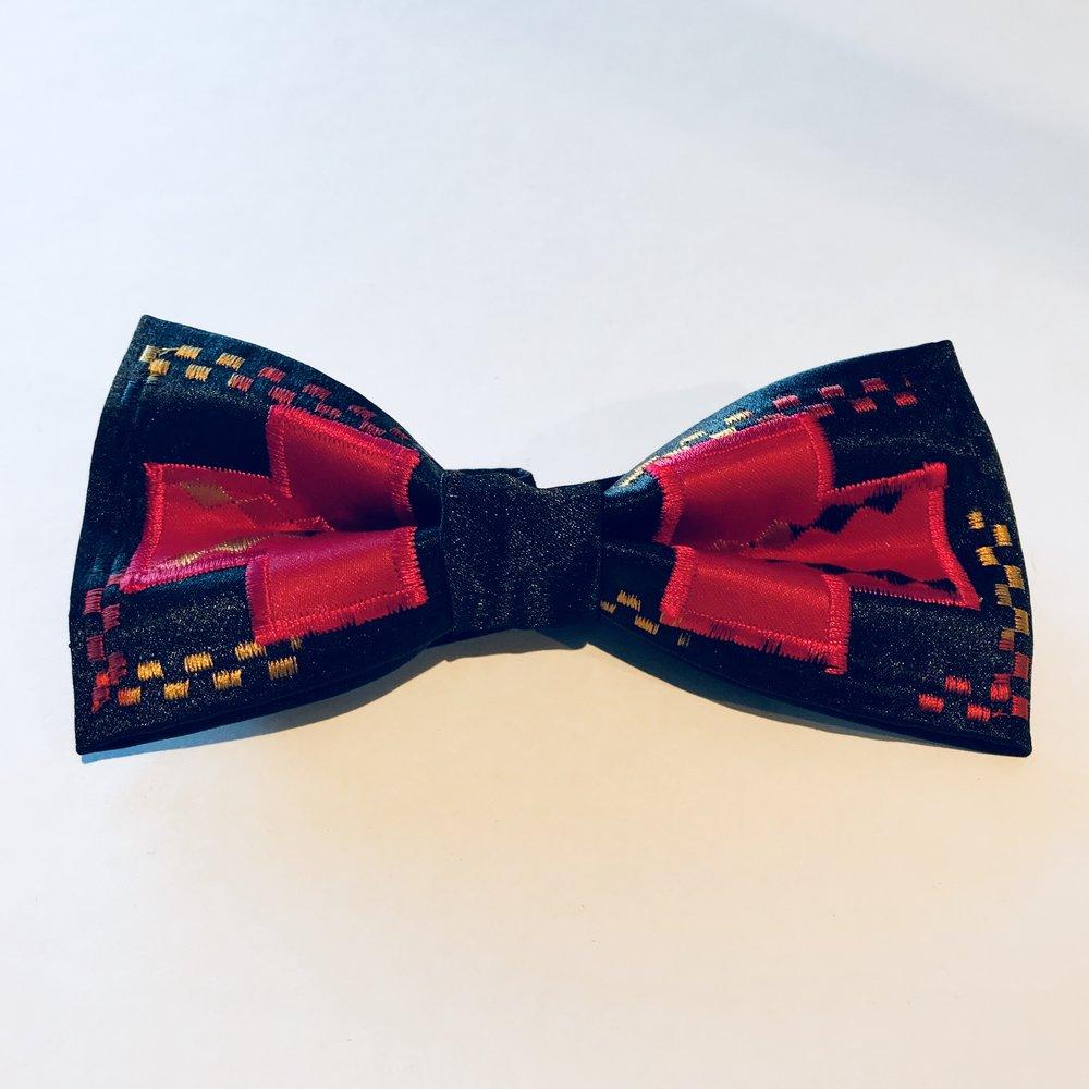 Satin Bow Tie