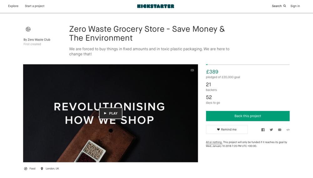 Back our Kickstarter! - Let's make a zero waste world possible.