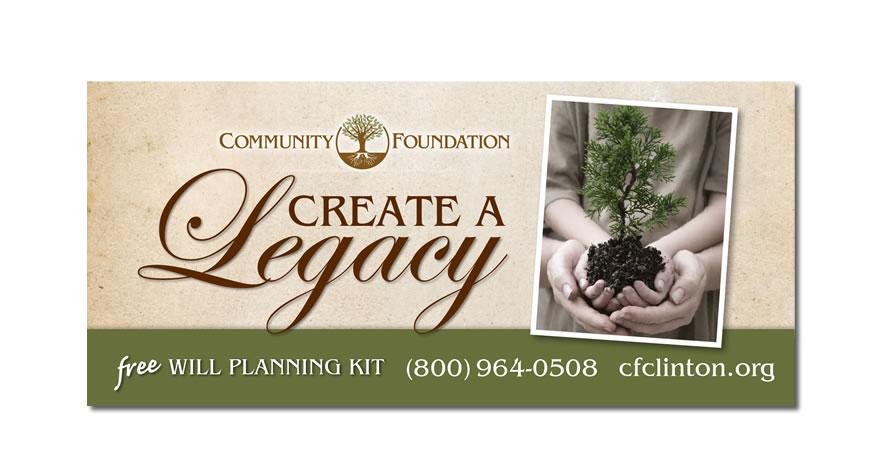 Community Foundation of Howard County Billboard Design