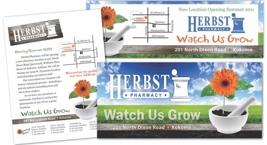Event Branding Package for Herbst Pharmacy
