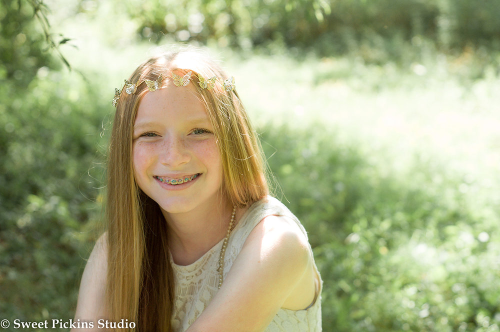 Teen Organic Portrait Session