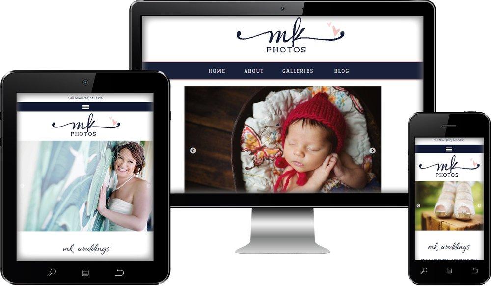 Photographer Web Site Design