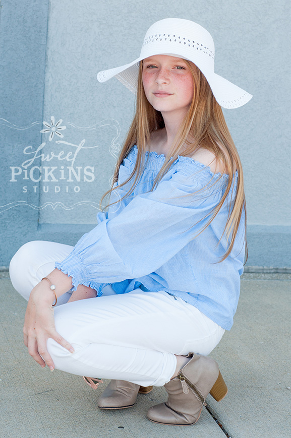 Teen Portrait Photography Session | Downtown Speedway, Indiana Alley
