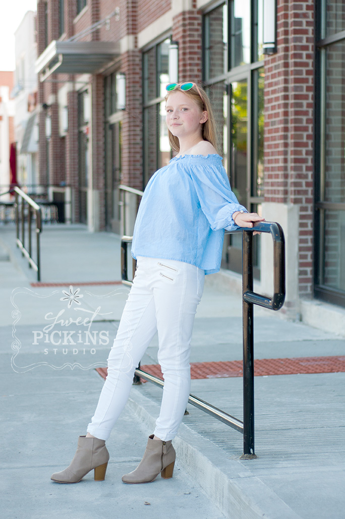 City Photography Session with Sweet Pickins Studio of Peru, Indiana