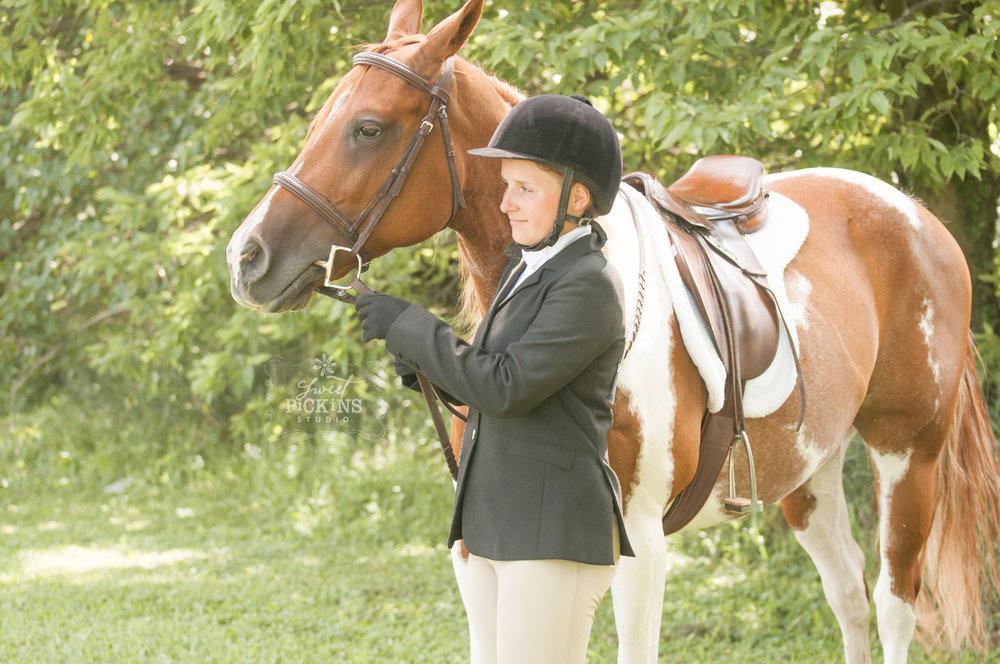 Peru, Indiana Equestrian Horse Portrait Photographer