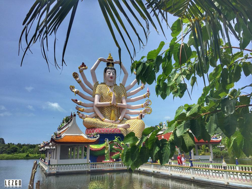 Wat Plan Laem, Koh Samui, Thailand June 2017