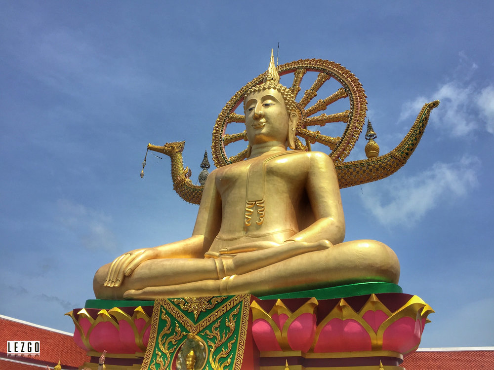 Big Buddha, Koh Samui, Thailand June 2017