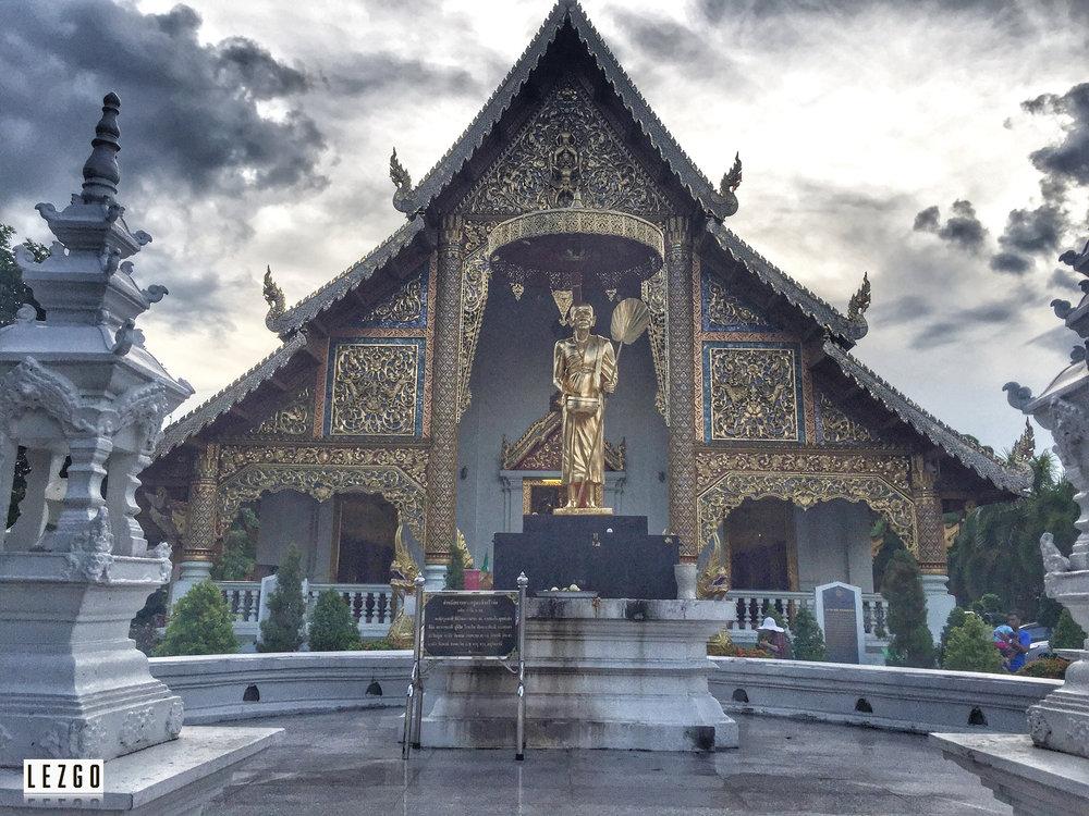 Wat Chemie Luang, Chiang Mai, Thailand May 2017