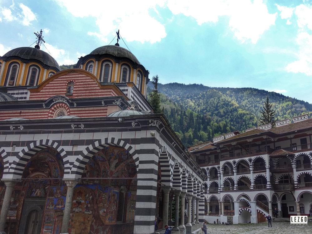 Rila Monastery, Bulgaria April 2017