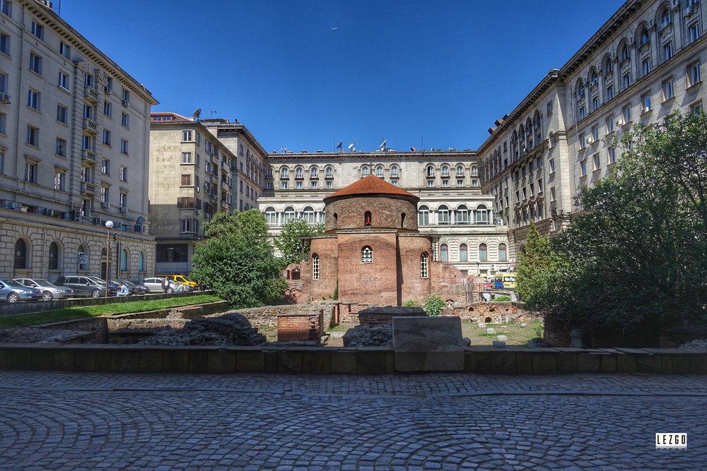 The Church of St. George rotunda, Sofia, Bulgaria April 2017