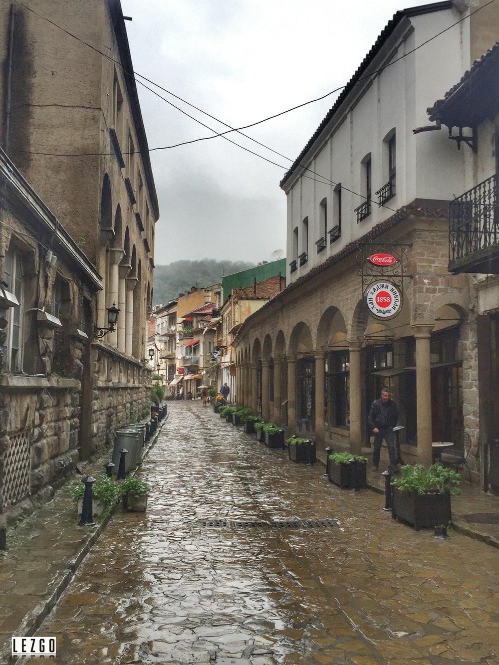 Old Town Veliko Tarnovo, Bulgaria September 2015