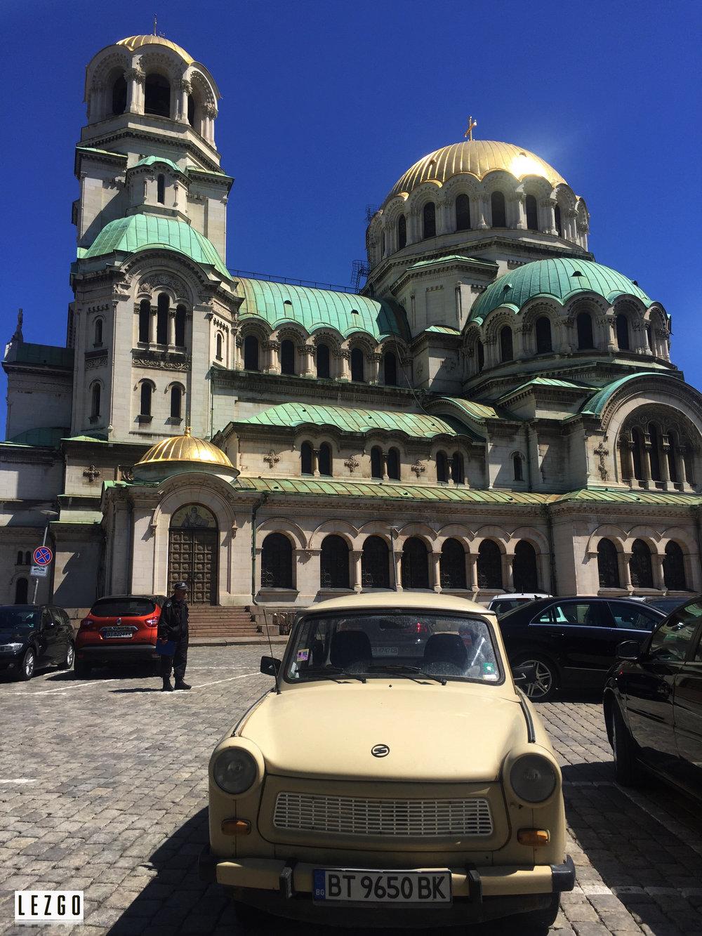 Aleksander Nevski Cathedral, Sofia, Bulgaria April 2017