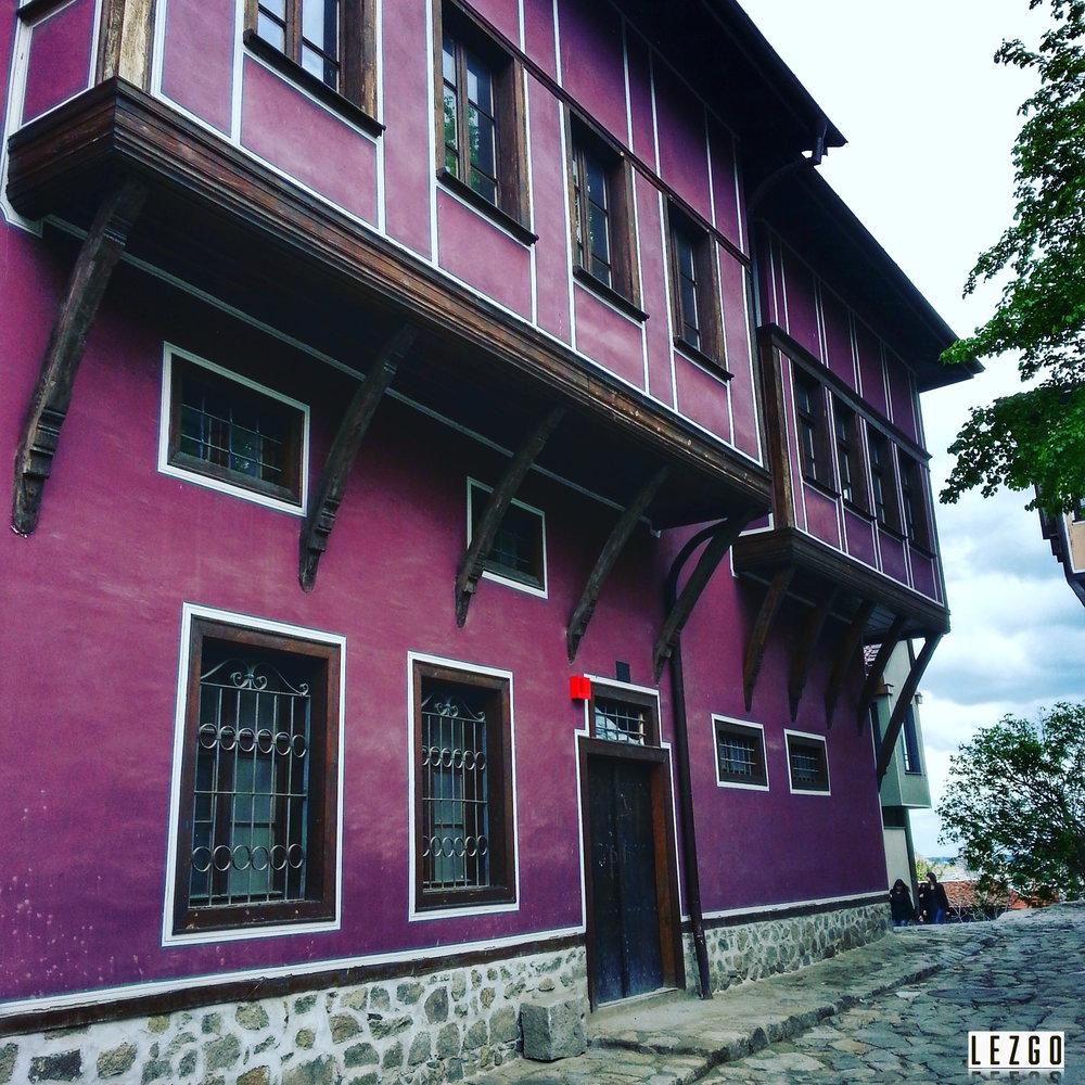 Old town Plovdid, Bulgaria September 2015