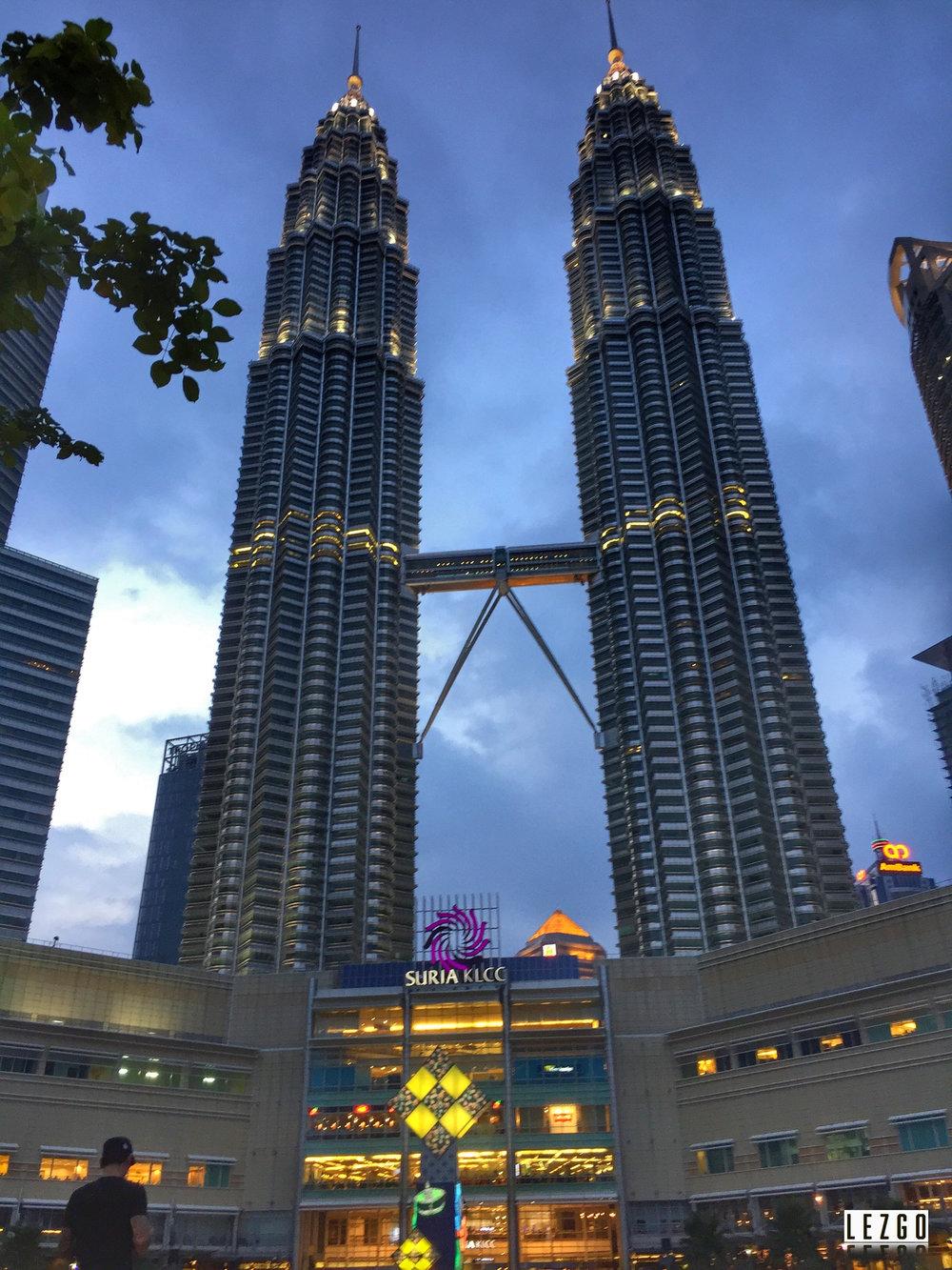Petrona Towers, Kuala Lumpur Malaysia June 2017