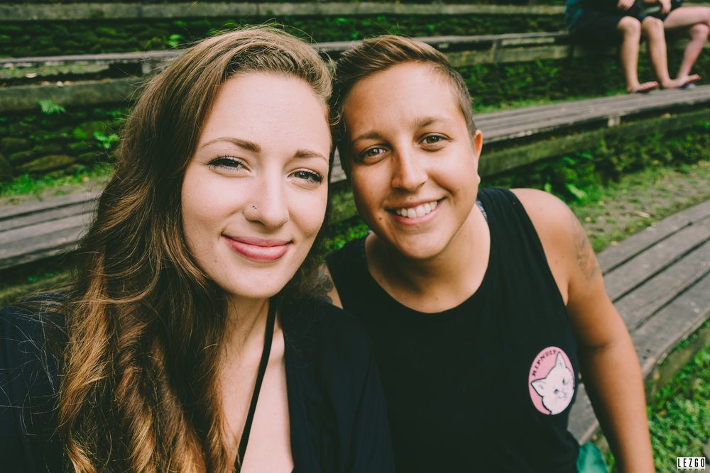 - We are a lesbian couple traveling the world and sharing our experiences, tips and pics.