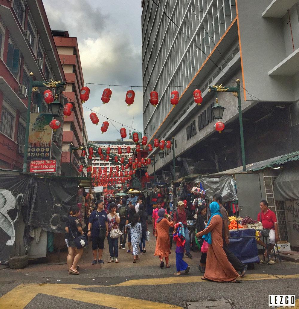China Town, Kuala Lumpur, Malaysia July 2017