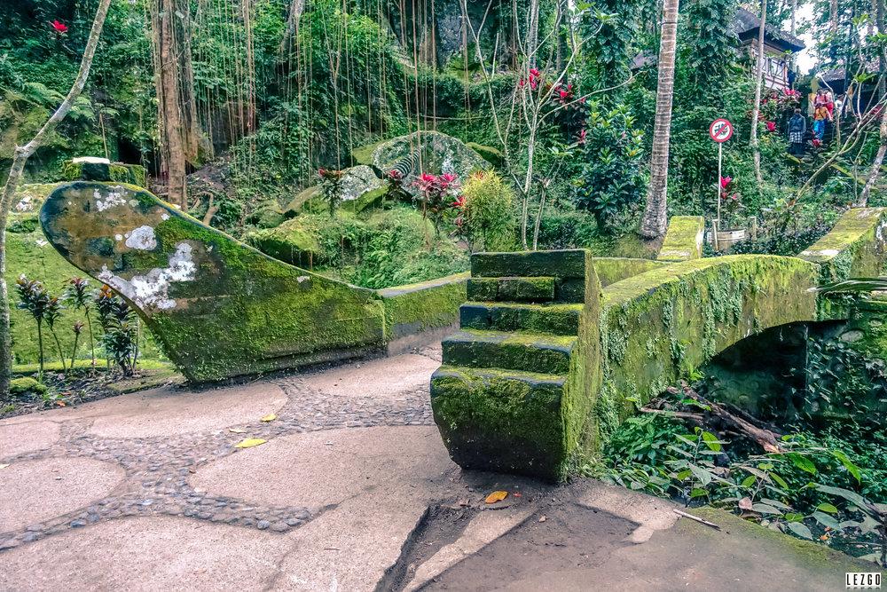 Goa Gajah, Ubud, Bali, Indonesia July 2017