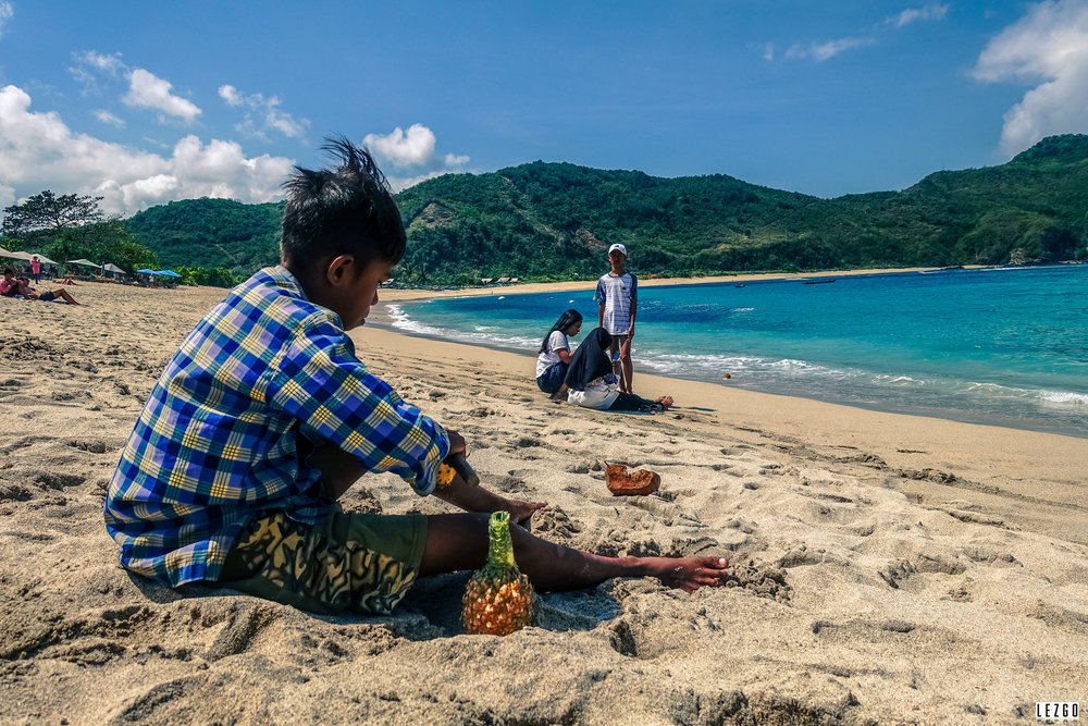 Lombok, Indonesia July 2017