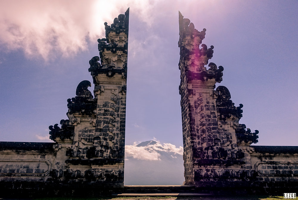"Pura Lempuyang ""Gates of Heaven"" Temle, Bali Indonesia July 2017"