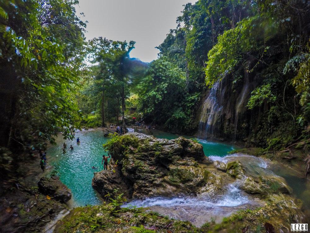 Cambais Falls, Moalboal, Cebu, Philippines August 2017