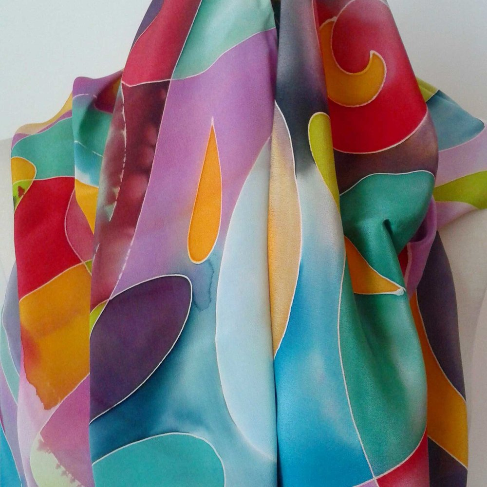 Abstract Bright (draped)