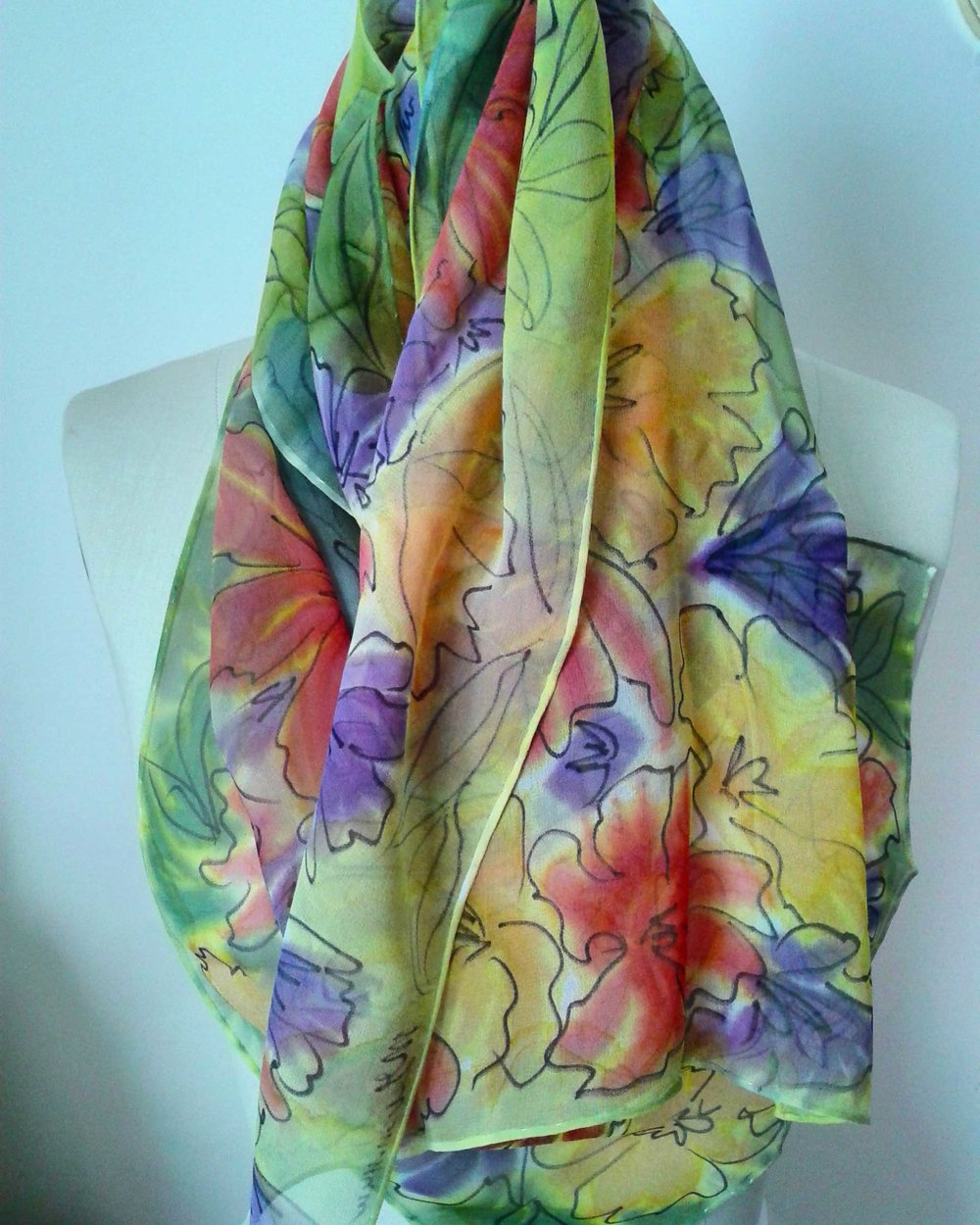 Flowers in Bloom (draped)