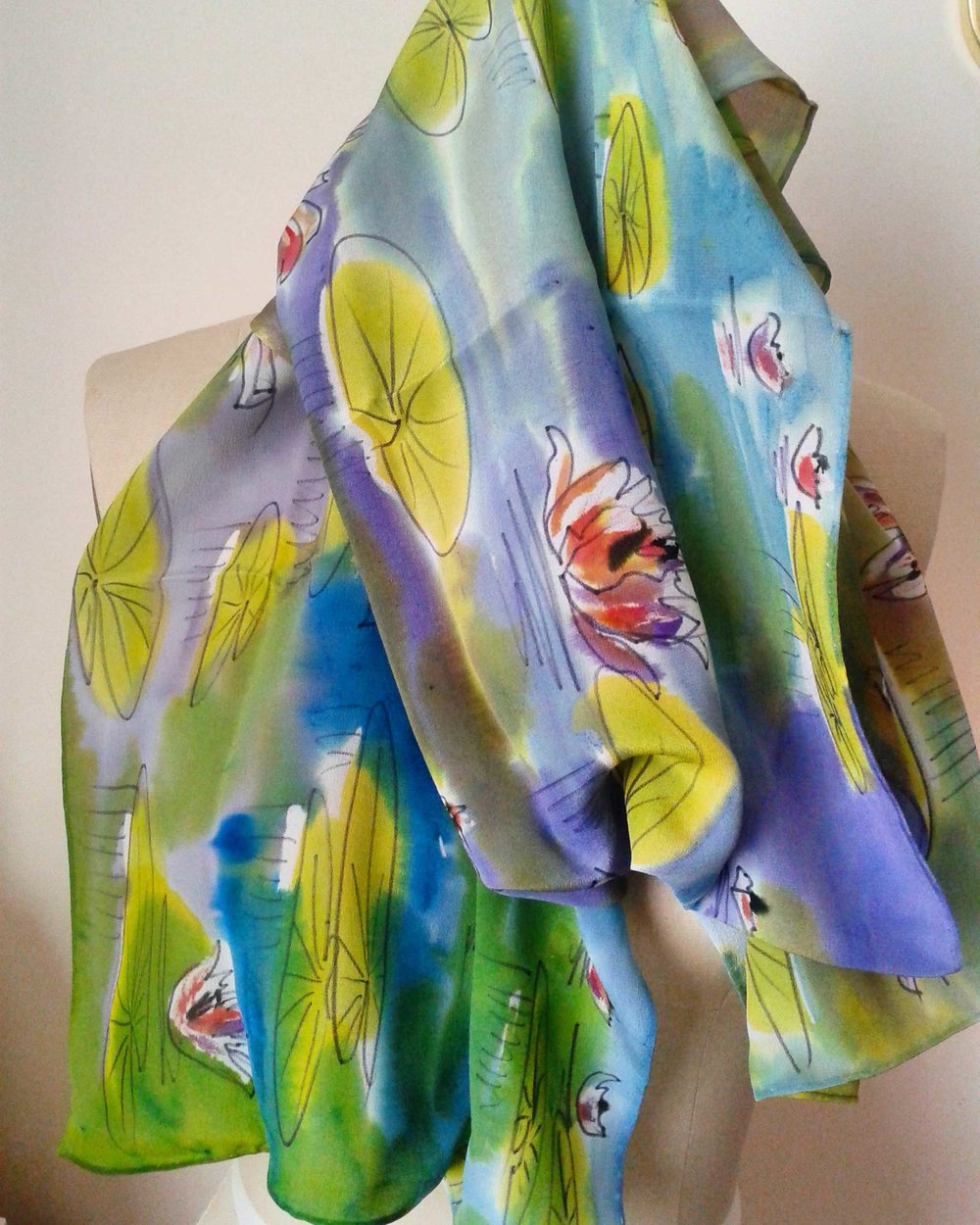 Waterlilies (draped)