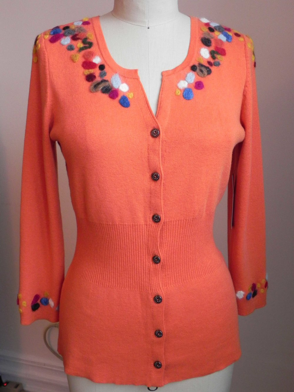 Felted Coral Top