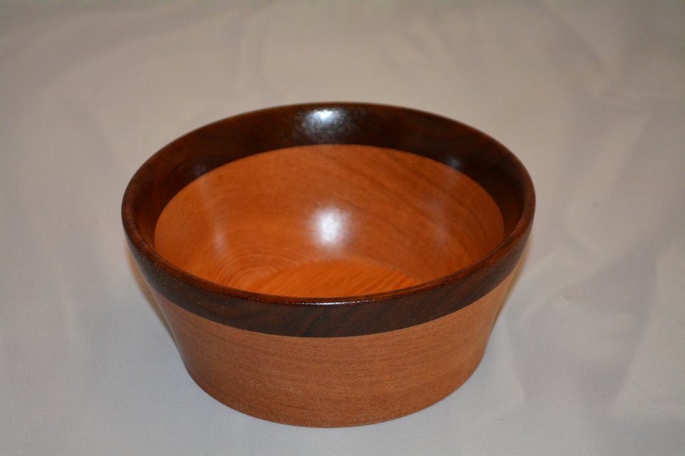 Fir and Walnut Bowl