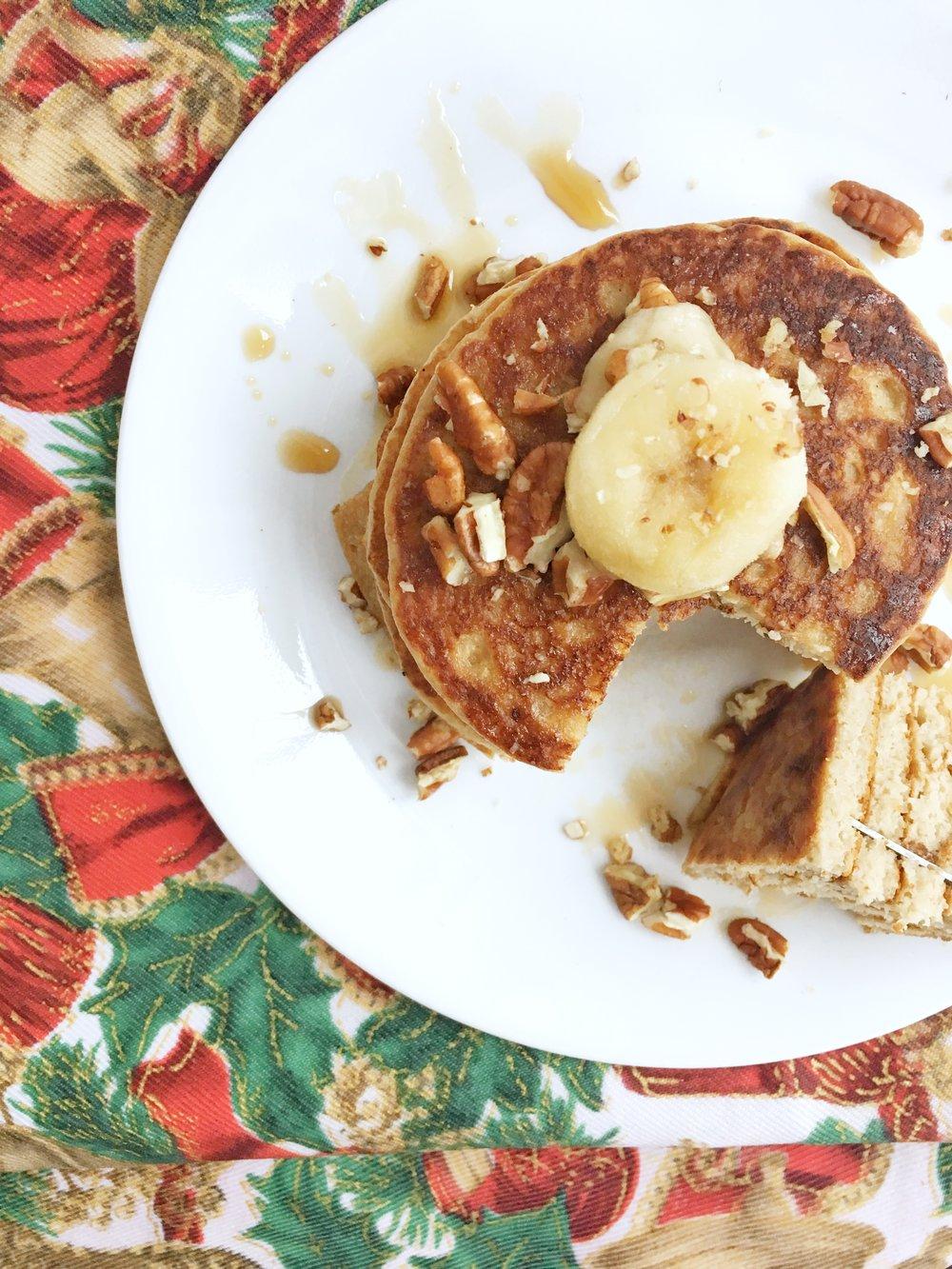 Super Fluffy Banana Pancakes .jpg