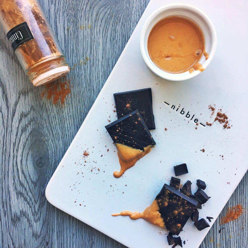 nibble chocolate cinnamon peanut butter.jpeg