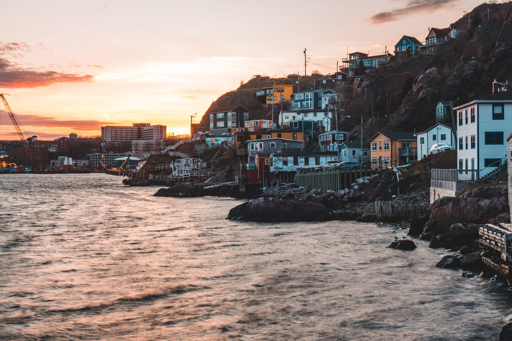 St. John's, Newfoundland, where I lived for years before moving to Toronto