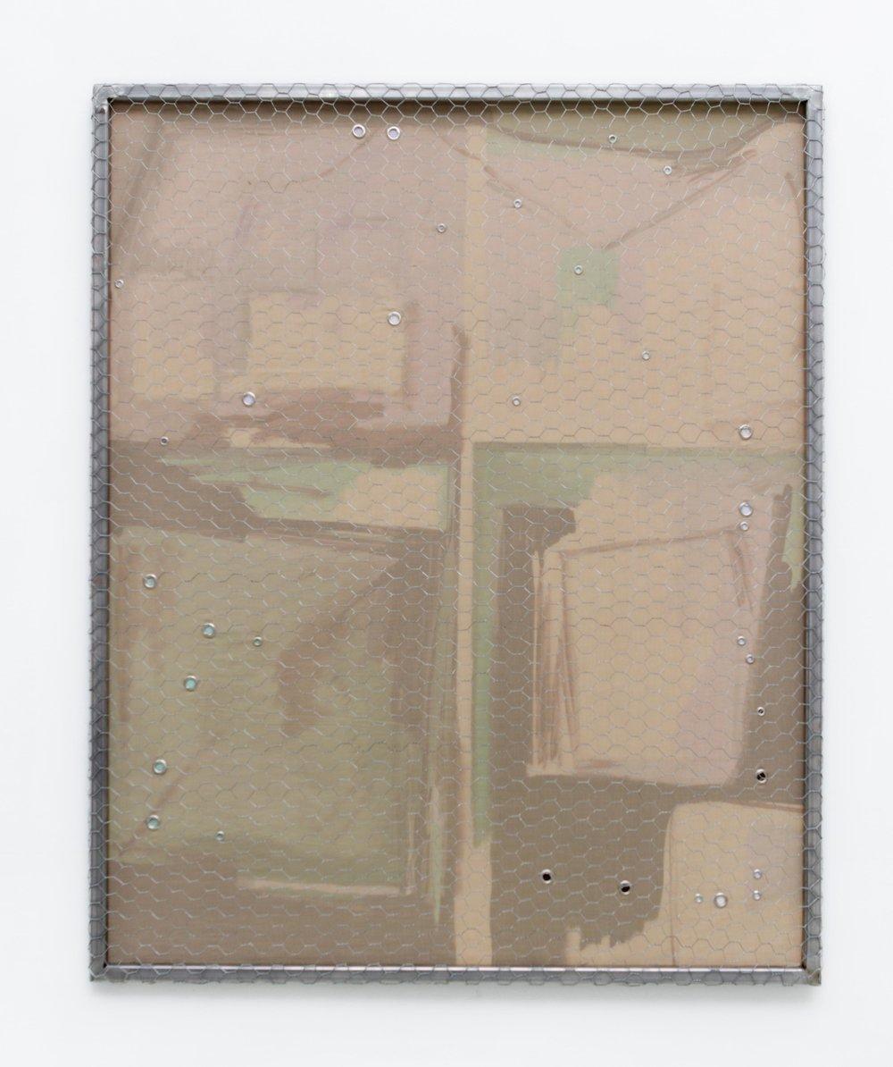 Sofía Berakha Futuro colección II técnica mixta 105 x 85,5 x 3 cm. 2016