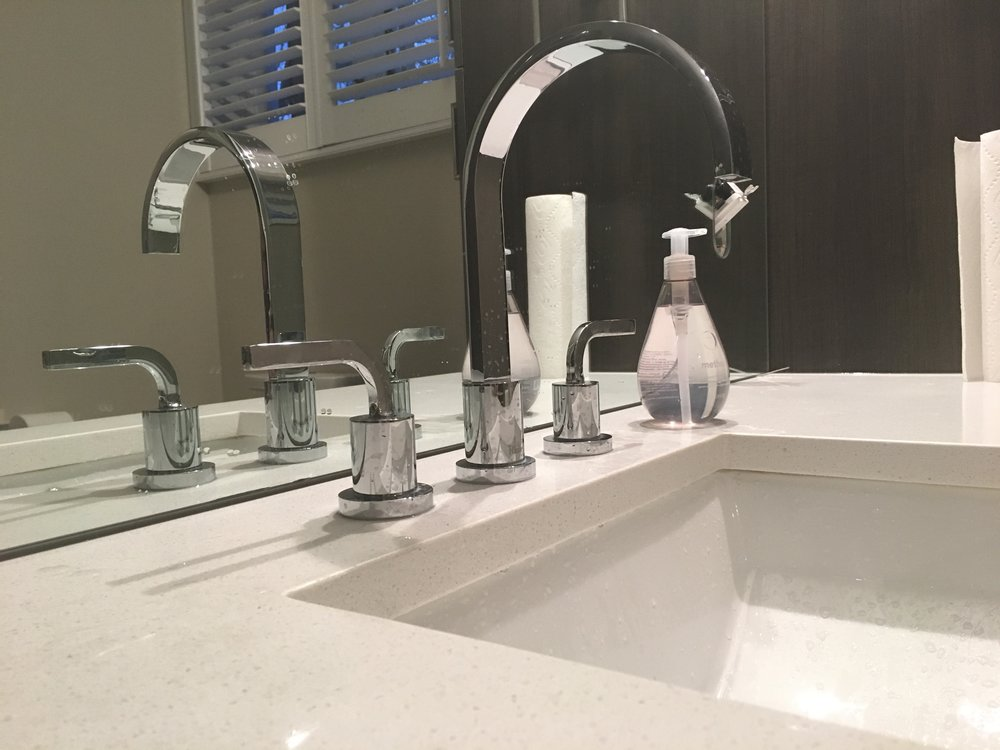 Sink Faucet Install