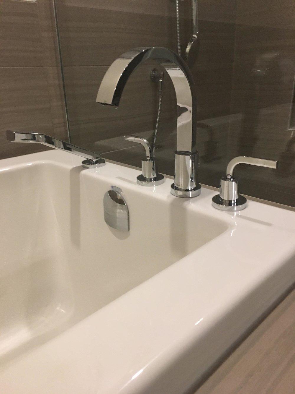 Tub Faucet install