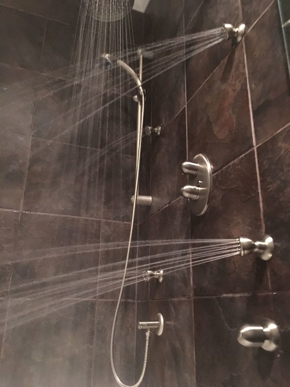 Shower Head and Jet Install