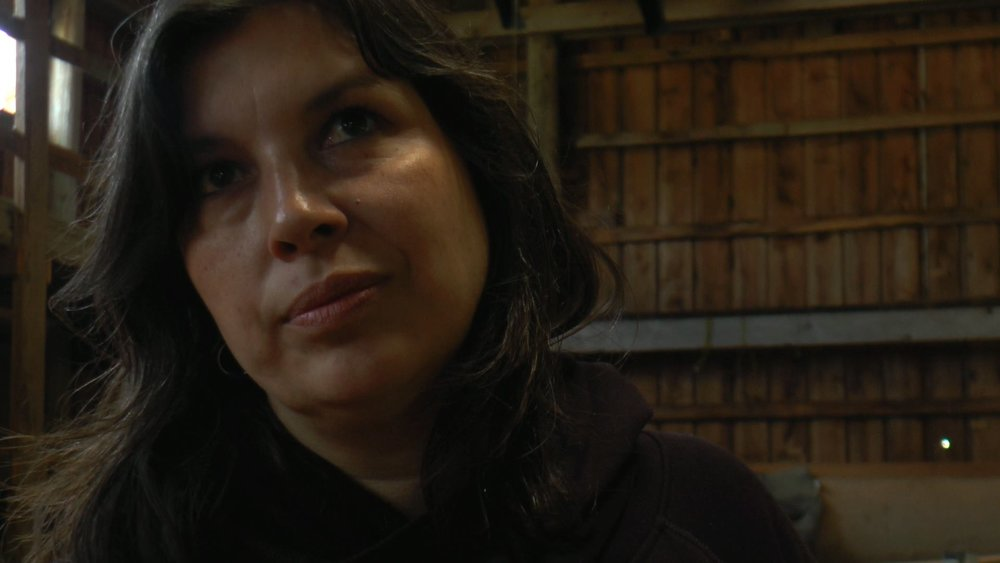 Lisa White, Haida Gwaii artist and daughter of the late Chief Edenshaw.  #whiteravens