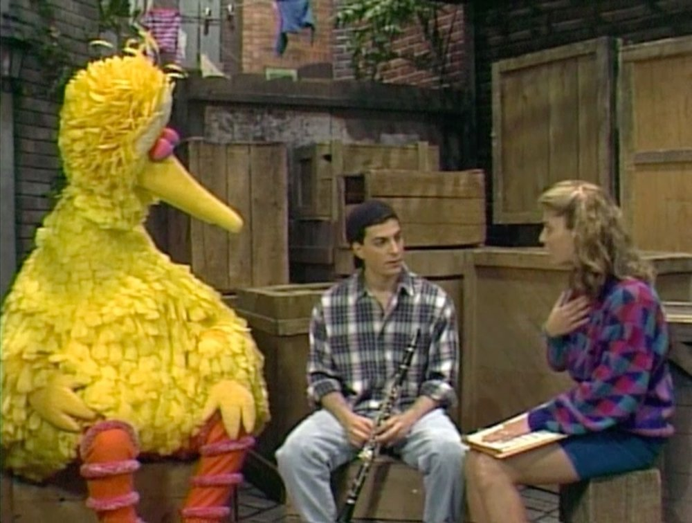 Schub on Sesame Street.