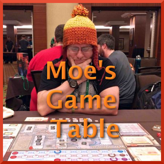 Moe's Game Table - WrittenRating: PG