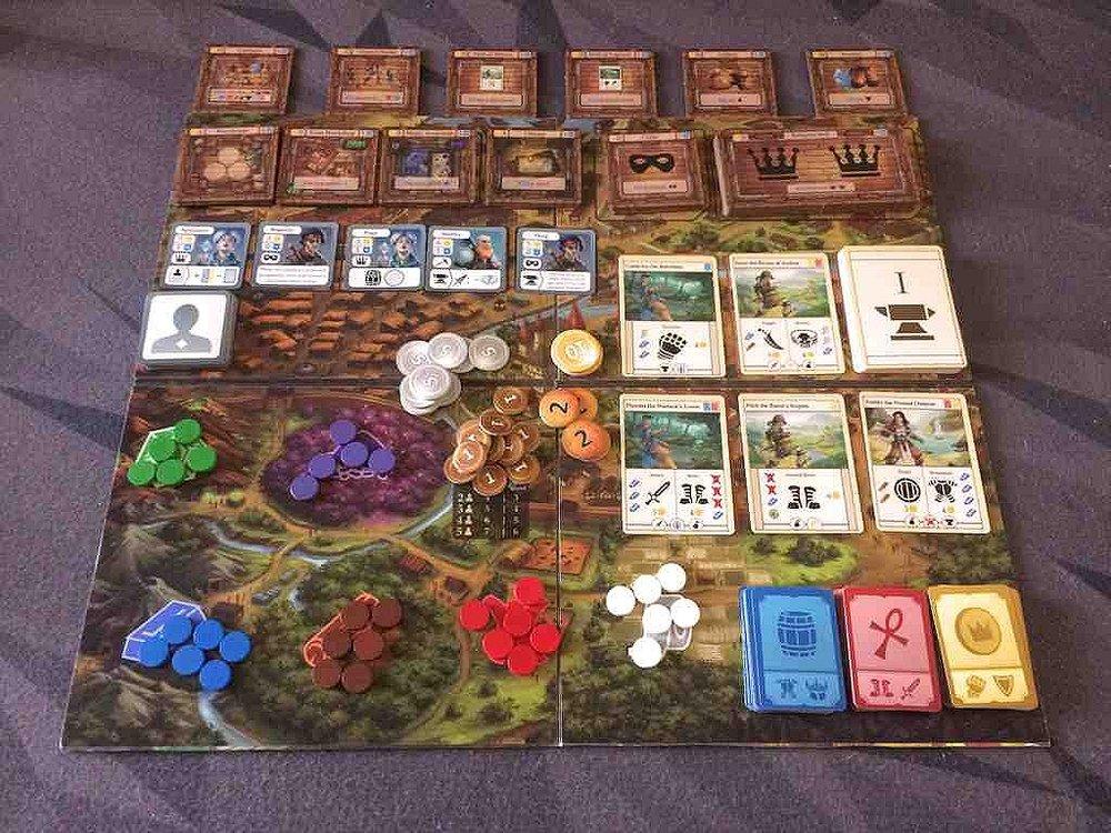 Guild Masters Board Setup