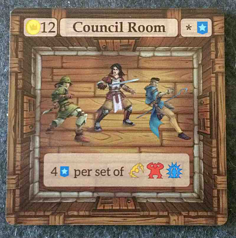 Council Room upgrade