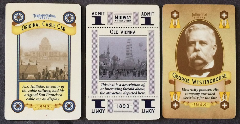 World's Fair 1893 Cards