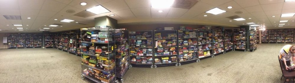 BGG.Con Game Library - Credit to HeavyCardboard - https://twitter.com/HeavyCardboard/status/932821157769654274