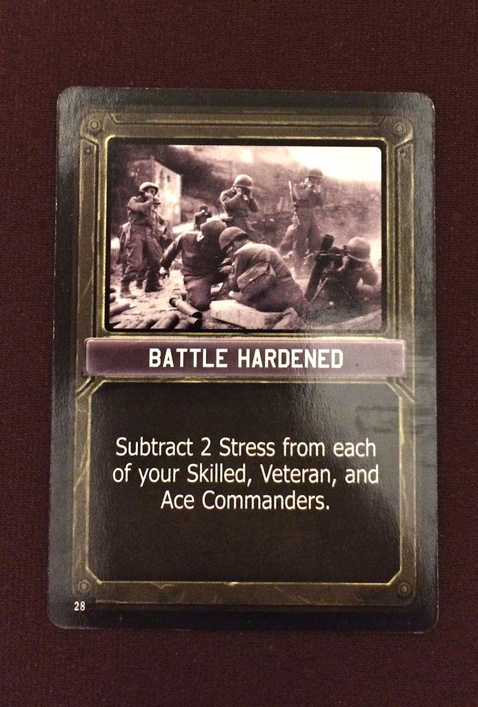 Special Condition Card
