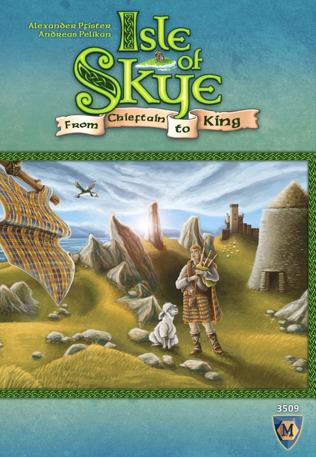 Box cover used with permission from BGG & the Publisher