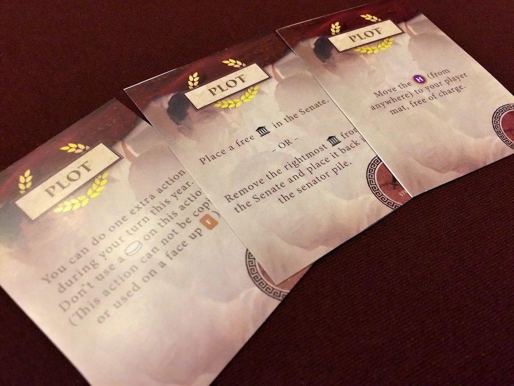 Plot cards