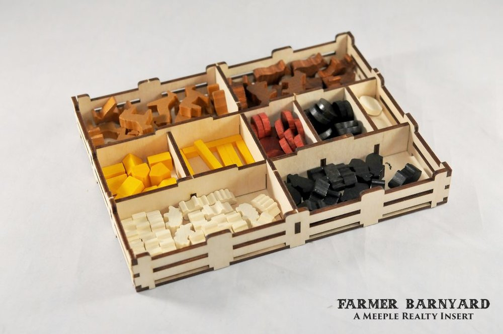 Farmer Barnyard by Meeple Realty