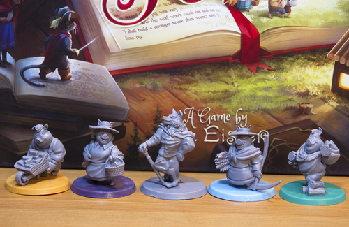 Just some of the amazing minis used in Grimm Forest (Photo by Amber Woywitka)