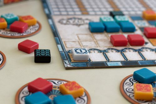 In Azul, going first has its cost